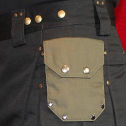Small Riveted Attachable Pockets