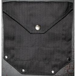 Large Riveted Pinstripe Attachable Pockets