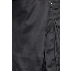 XL-Men's Pinstripe Kilt w/Gunmetal Rivets